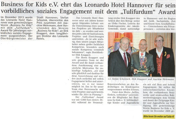 Kronsberg Nachrichten Hotel Hannover Business for Kids
